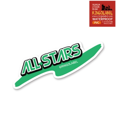 All Stars - 캐리어/노트북 스티커