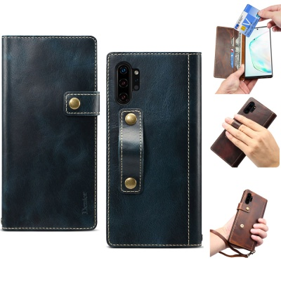 갤럭시S9 S9플러스 가죽 지갑 스트랩 핸드폰 케이스