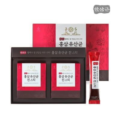 [한삼근] 홍삼 유산균 진 스틱 2g x 60포