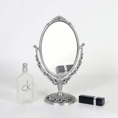큐티메탈 로제 타원 화장대 거울 스몰-3색상