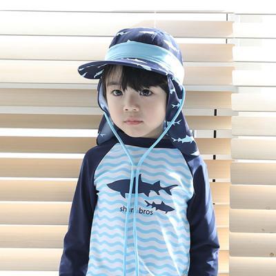 바닷속 상어 유아 플랩캡(0-10세) 203803