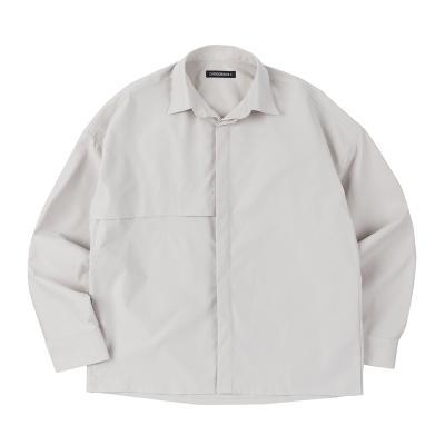 CB 하이드 셔츠 (라이트그레이)