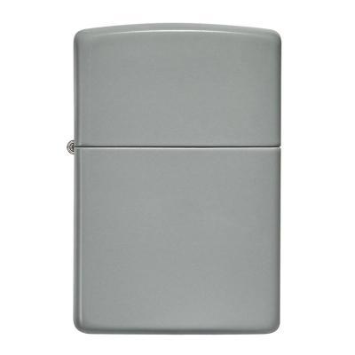 ZIPPO 라이터 49452 Classic Flat Grey