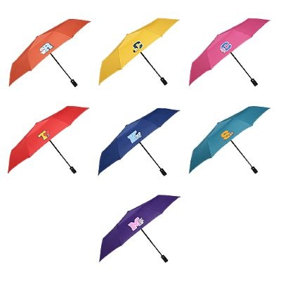 [BT21] 엠블럼 3단 안전 완자동우산