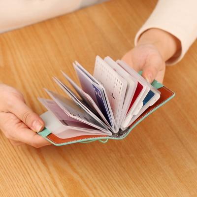 카드 케이스 천연가죽 명함 카드북 7color