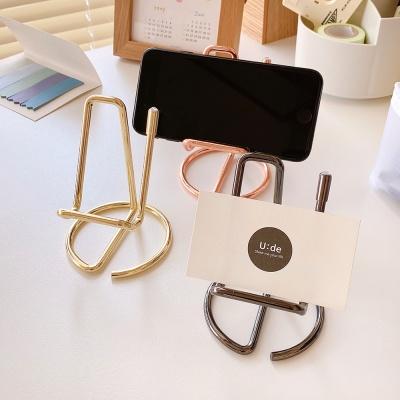 핸드폰 태블릿 탁상용 거치대 명함꽂이 카페메뉴판