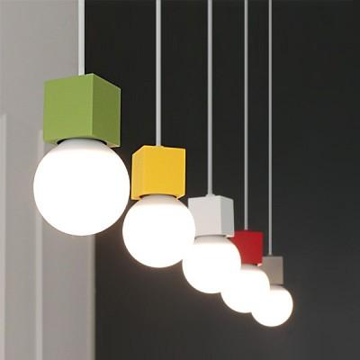 [바이빔][LED] 티피5등 펜던트-7color