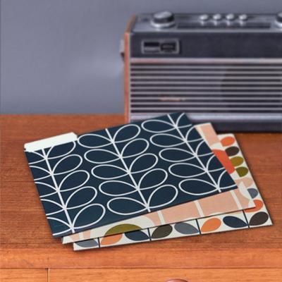 [올라카일리] A4 종이 카드 파일홀더 파일철 6P 세트