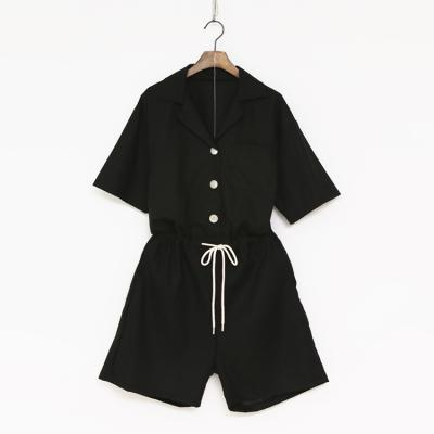 Linen Cotton Romper