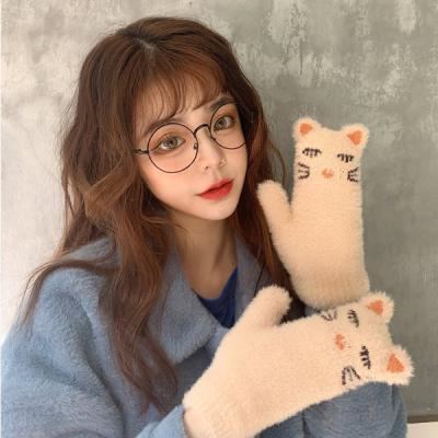 냐옹 캐릭터 귀요미 벙어리 장갑