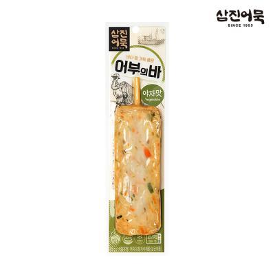 [삼진어묵] 어부의 바 (야채맛) 1개 80g x2개