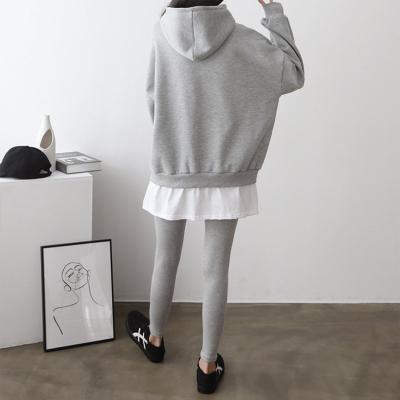 [Set] Gimo Hood Sweatshirt + Leggings