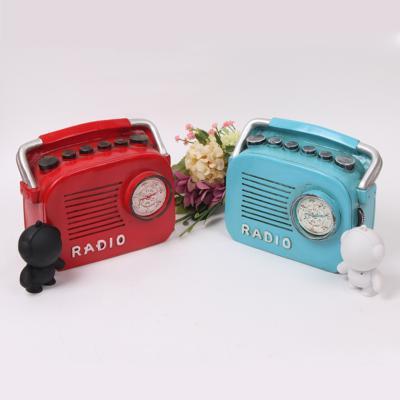 마블 빈티지 라디오 저금통