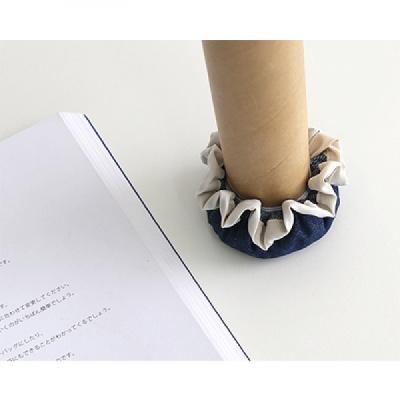 [콩지] 데님 세발 의자발커버 3P