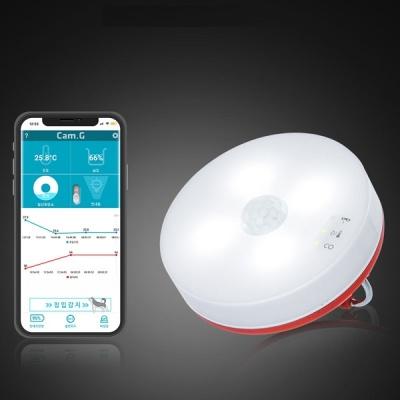 [일산화탄소 경보기] 캠지 휴대용 보안 안전장치