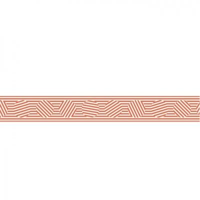 [두성산업] 디자인마스킹테이프K-01D436 (오렌지스트라이프) [개/1] 396146