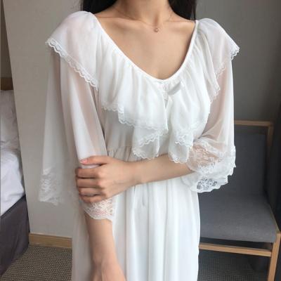 여름 홈드레스 여신 원피스 잠옷