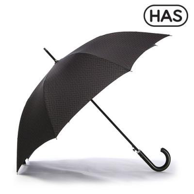 [헤즈]남성 가죽핸들 자동 장우산 HS1AL860(HERRINGBONE)