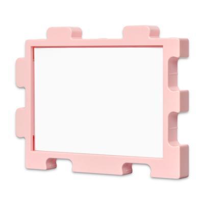 퍼즐액자 10x14.7 고급형 연결액자 핑크