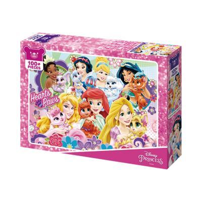 디즈니 프린세스 나의 펫 일기 100피스 직소퍼즐