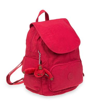 [키플링]CITY PACK S Small Backpack Radiant Red C