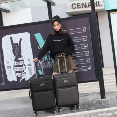 여행용 기내용 소프트 캐리어 연예인 여행 예쁜 24호