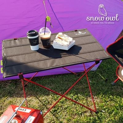 스노우아울 캠핑 초경량 폴딩 롤 테이블 소형/대형