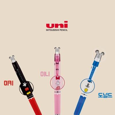 유니볼 RE 지워지는펜 3색 디즈니 (0.5) URE3-600D-05