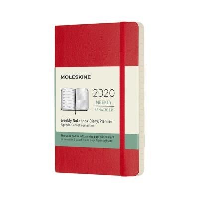 몰스킨 2020위클리/스칼렛레드 소프트 P