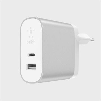 벨킨 USB-C 2PORT 가정용충전기 39W