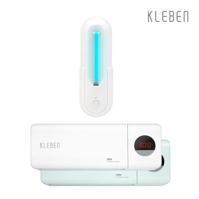 클리벤 무선 UV 변기, 칫솔 살균기 세트