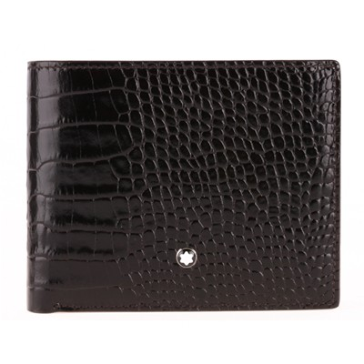 몽블랑 MEISTERSTUCK SELECTION WALLET 6CC WITH REMOVABLE CARD HOLDER POCKET (103406)