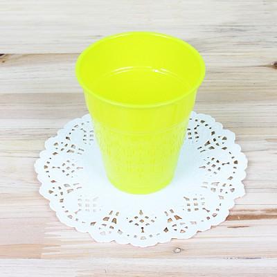 파티용 칼라 컵-라임그린(10개입)