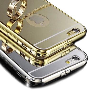 럭셔리 미러미러 범퍼하드케이스(아이폰6플러스/5.5형)