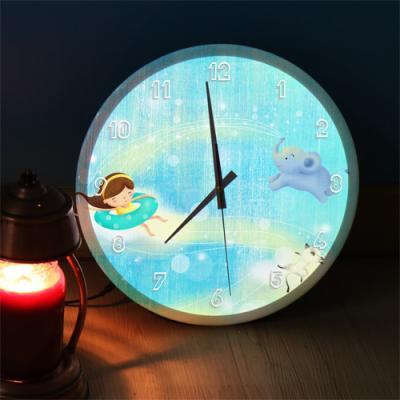 ng147-LED시계액자35R_소녀의꿈속여행D