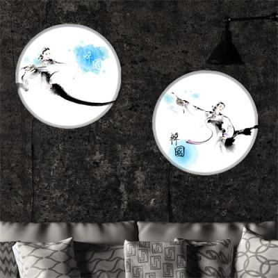 nh432-LED액자45R_고혹적인한국의부채춤