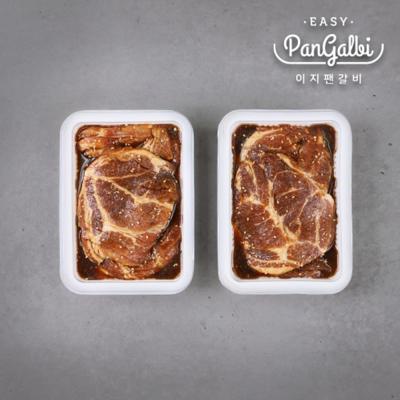 이지팬 돼지갈비 1kg+1kg 돼지불고기 구이 양념목살