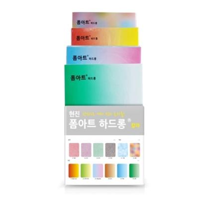 [현진아트] FHC폼아트하드롱 칼라-입체 101빨강 [장/1]  399116