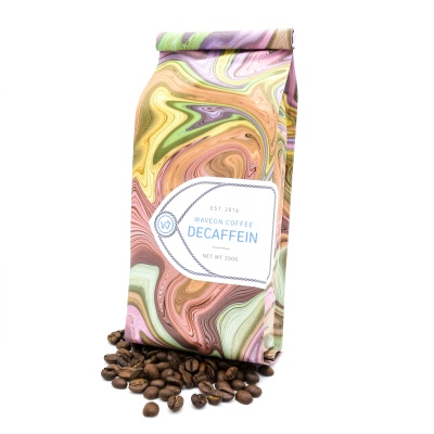 웨이브온 디카페인 블랜드 원두 커피 200g