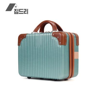 집드리 14인치 미니 캐리어 기내용 여행 하드 가방