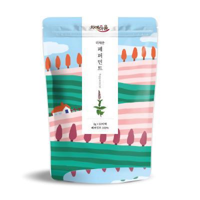 차예마을 보틀티 더채운 페퍼민트 삼각티백 44g