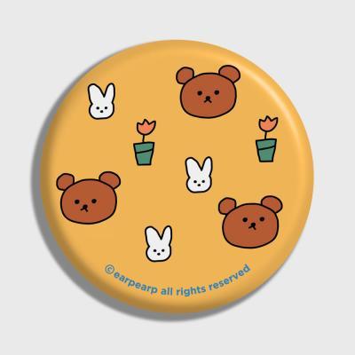 Bear and rabbit-yellow(거울)