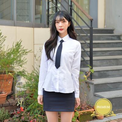 [빅사이즈] 프리미엄 둥근카라 셔츠 (컬러체크) ~4XL