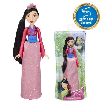 디즈니프린세스 패션돌 반짝이 드레스 뮬란 공주인형