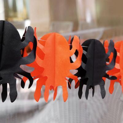할로윈 거미 가랜드 (1개)