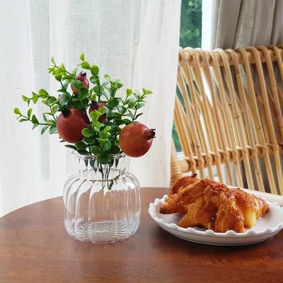 이너스 조화 과일부쉬 1P 석류