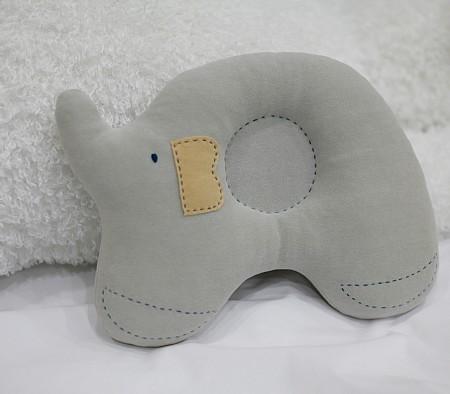 [DIY]천연염색 코끼리 짱구베개