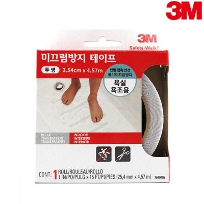 3M 논슬립 실내용 투명 (7640/2.54cmx4.57m)