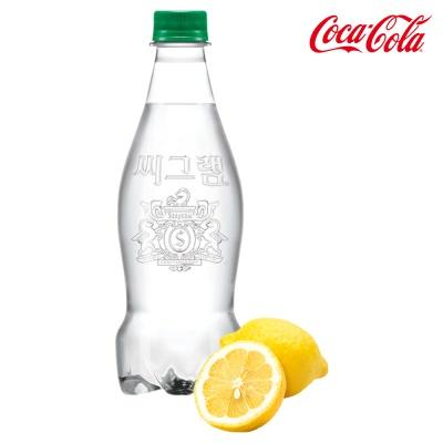 씨그램 무라벨 레몬 350ml 24펫