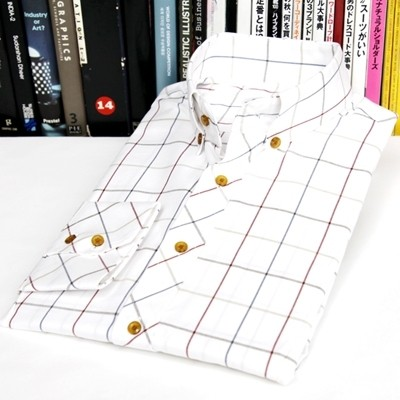 [베네]스마트 체크 셔츠